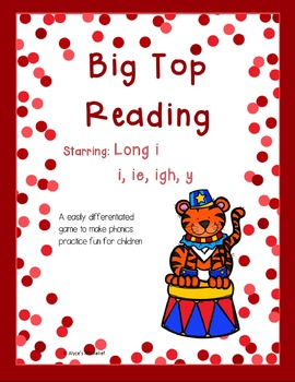 Big Top Reading Starring Long i i ie igh y