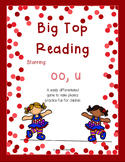Big Top Reading Starring oo and u