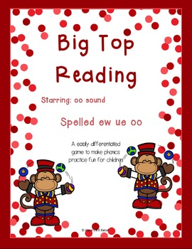 Big Top Reading Starring oo ew ue