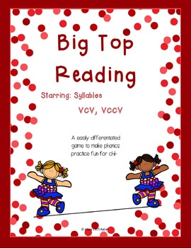 Big Top Reading Starring vcv and vccv