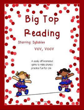 Big Top Reading Starring vcv and vccv
