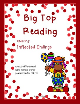 Big Top Reading starring Inflected Endings