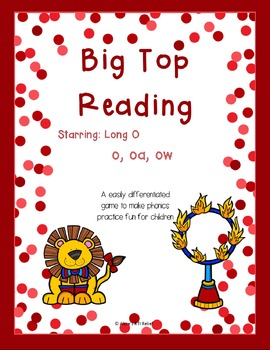 Big Top Reading starring Long O o oa ow