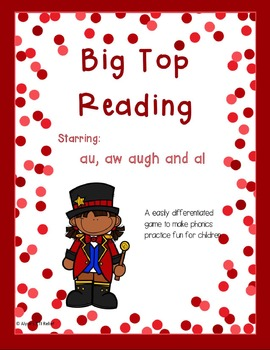 Big Top Reading starring aw au augh and al