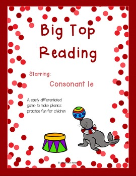 Big Top Reading starring consonant le