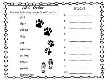 Big Tracks, Little Tracks   Following Animal Prints
