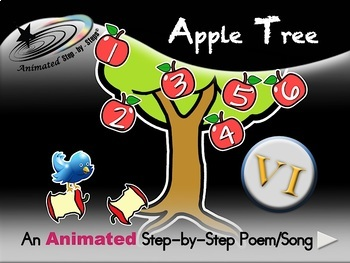 Big VI Bundle A - Animated Step-by-Step Poems/Songs - VI