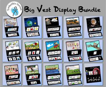 Big Vest Display Bundle - SymbolStix