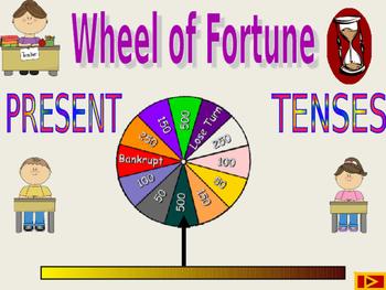 Big Wheel Present Tenses