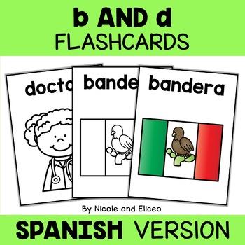 Spanish b and d Reversal Flashcards