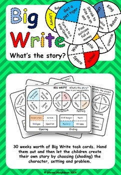 Big Write: What's the story?