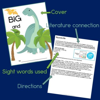 Big and Little Class Book with Sight Words