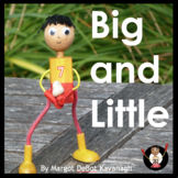 Big and Little: An Emergent Guided Reading Level 2 Billy Beginning Reader Book