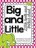 """Big and Little"" Little Book & Pocket Chart Set"