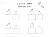 Big and Little Snowman Number Game
