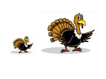 Big and Little Thanksgiving Theme