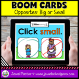 Big and Small Opposites Boom Cards (Digital and Distance L