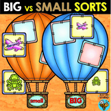 Big and Small Sorts | Identifying Size Sorting Mats