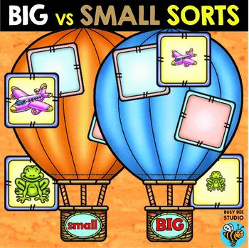 Big and Small Sorts   Identifying Size Sorting Mats