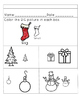 Big and Small Worksheets--Christmas Themed