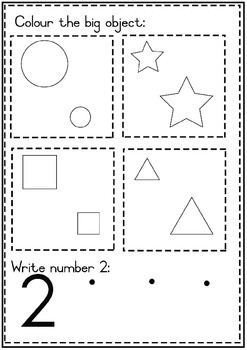 Big and small math pack