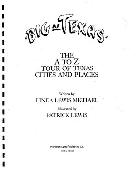 Big as Texas- The A to Z Tour of Texas Cities and Places