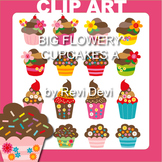 Cupcakes clip art - Teacher Resource