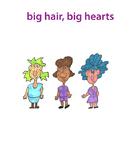 Classroom figures: Cartoon clip art