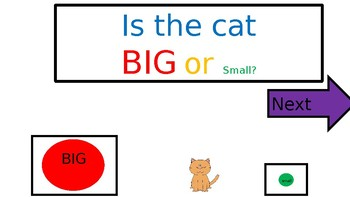 Big or Small Interactive Questions