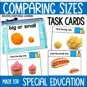 Big or Small Task Card Set
