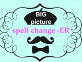 ER verbs with spelling changes - big picture