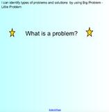 Big problem/Little Problem Lesson presentation