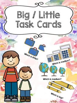 Big vs. Little Task Cards
