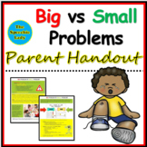 Big vs Small Problem Parent Handout