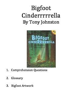 Bigfoot Cinderrrrrella Activities