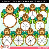 Bigfoot Spinners Clip Art