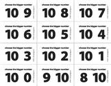 Bigger Number Flash Cards (0-10) - BW