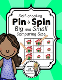 Bigger and Smaller (Comparing Size) - Self-Checking Math Centers