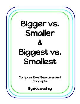 Bigger vs. Smaller and Biggest vs. Smallest