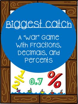 Biggest Catch: Fractions, Decimals, and Percents