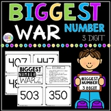 Biggest Number 3 Digit War Math Game