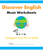 Biggest Pop Hits of 2019 - Music Worksheets for ESL students