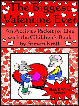 Valentine's Day Language Arts Activities: Biggest Valentine Ever Activity Packet