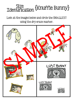 Biggest and Smallest - Knuffle Bunny Theme