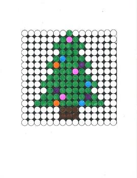 Biggie Plastic Beads Christmas Designs