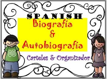 Bigoraphy & Autobiography (SPANISH) Posters