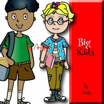 Big kids classroom- Color and B&W