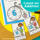 Addition - Counting On Strategy - Bike On