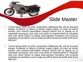 Bike PPT Template