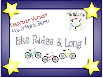 Bike Rides and Long I - Classroom PowerPoint Game